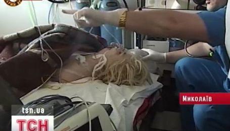 Оксану Макар самолетом доставили из Николаева в Донецк