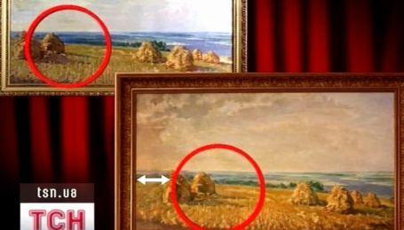 В Кабмине действительно подменили две картины художника Николая Глущенко