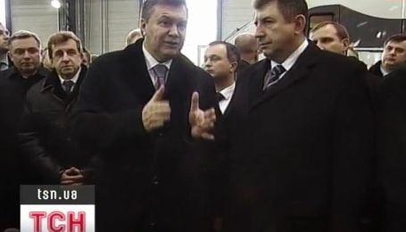 Янукович пообещал современные украинские скоростные поезда