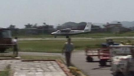 Первые кадры с места авиакатастрофы в Непале