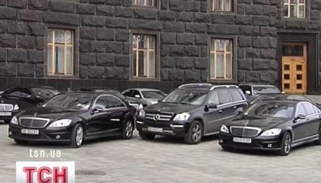По количеству служебных машин Украина чуть ли не на первом месте в Европе