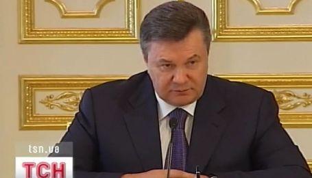 Президент о взрывах в Днепропетровске