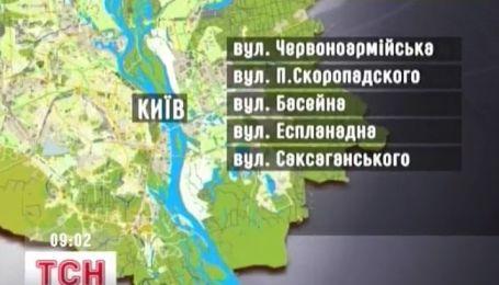 На выходных в Киеве будет не проехать