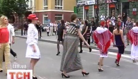 Особый показ моды прошел в Тернополе
