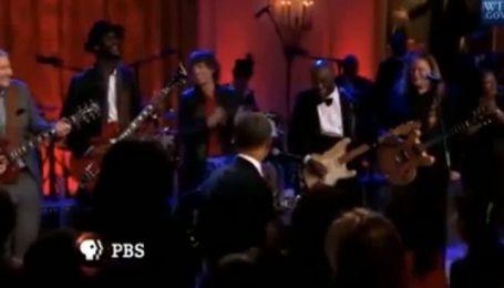 Обама заспівав блюз на вечірці в Білому домі