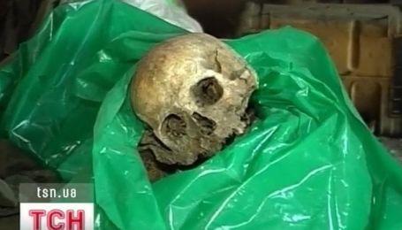 Останки советских воинов нашли в частном гараже