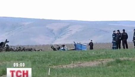 В Румынии разбился вертолет с украинцами