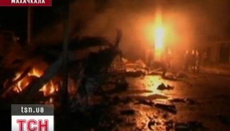 Два мощных взрыва прогремели в столице Дагестана