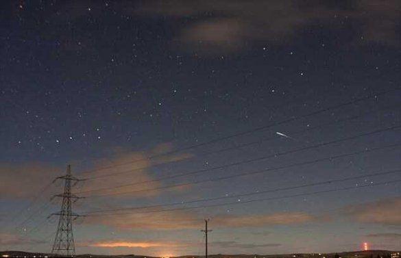 Падіння метеора у Британії