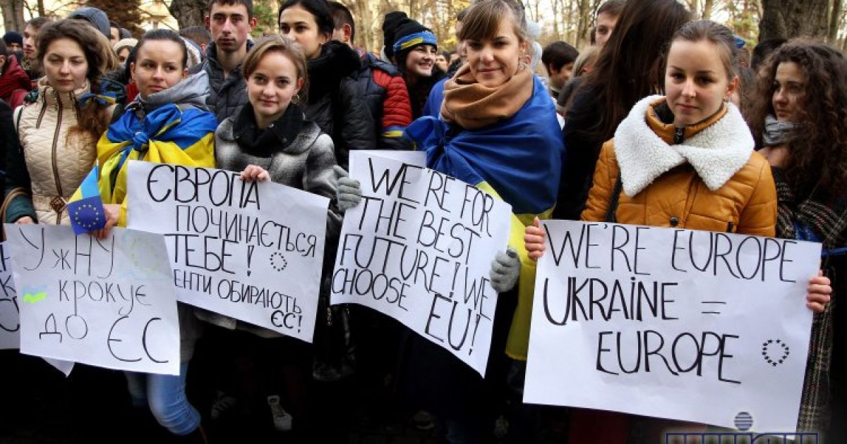 Студенти вийшли на мітинг @ УНІАН