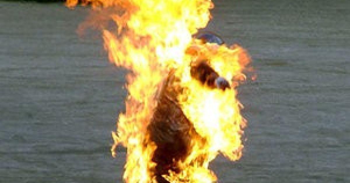 В Запорожье на территории храма женщина покончила с собой с помощью огня