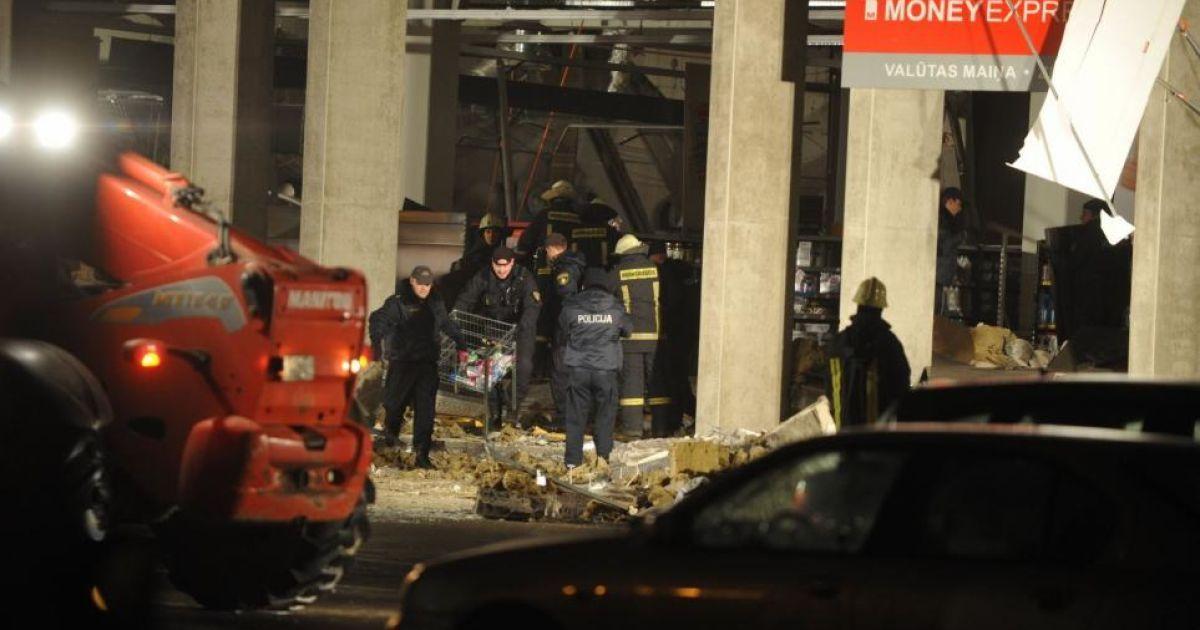 Спасатели продолжают извлекать тела погибших в обрушившемся  супермаркете @ bigpicture.ru