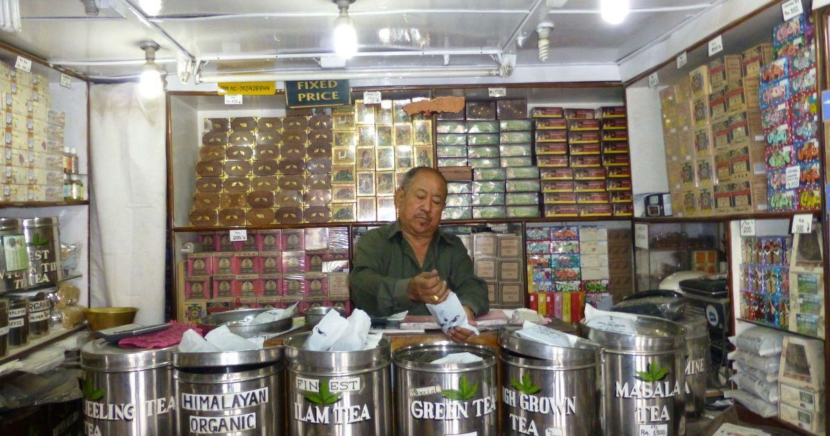 Тибетские чаи в Катманду