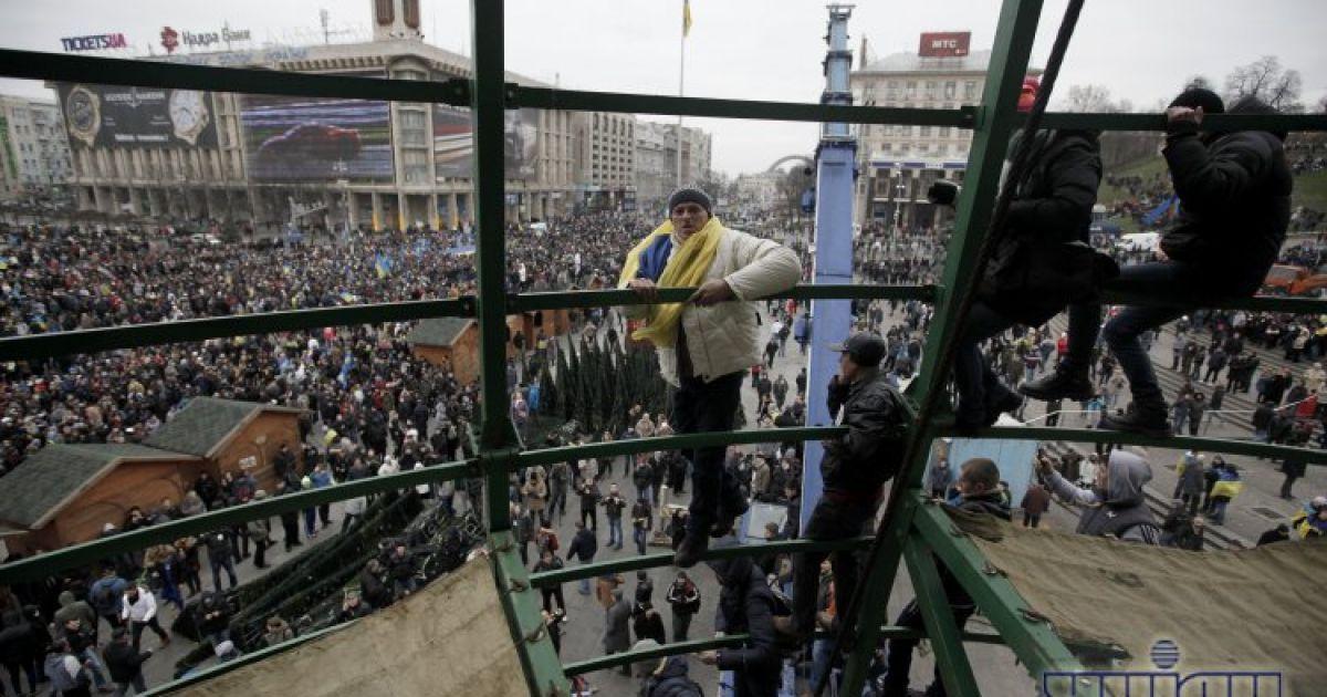 На Євромайдан вийшло близько півмільйона осіб @ УНІАН