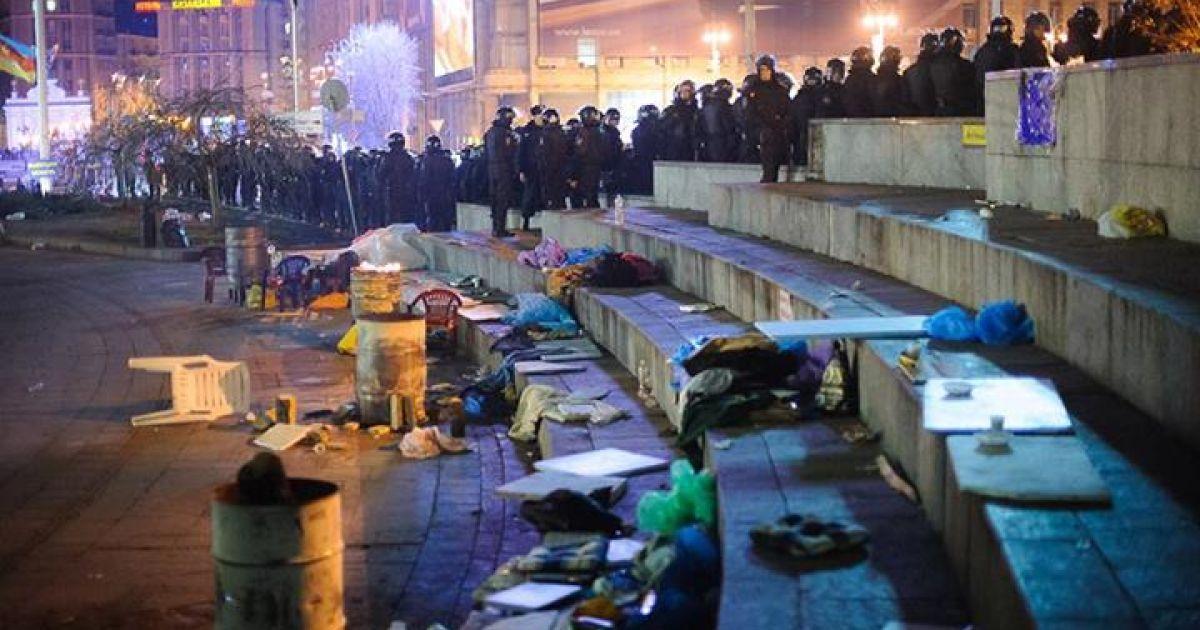 Первые минуты после разгона (Фото acebook.com/alexandr.piliugun) @ amvrosievka.dn.ua