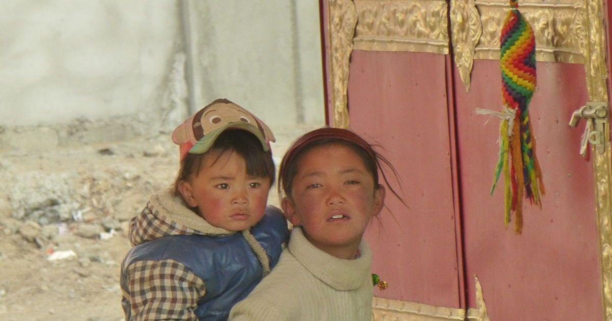 Встреча с тибетскими малышами