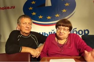 Новодворская с бандеровским значком посоветовала украинцам бежать от российского болота (видео)