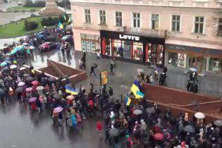 Тисячі львівських студентів проміняли пари на Євромайдан