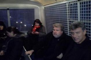 Нємцова затримали у Москві за підтримку України