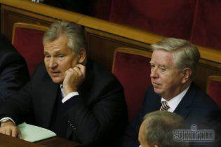 На заседание депутатской группы по вопросу Тимошенко прибыли Кокс и Квасьневский