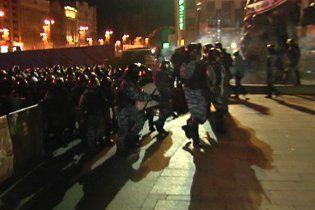 Милиция отпустила задержанных активистов Евромайдана