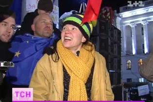 Руслана и Бурмака призвали украинцев выходить на Евромайдан