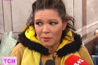 Руслана пообещала согреть Евромайдан, раздевшись до купальника