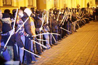 """На Евромайдане формируются отряды самообороны от """"Беркута"""""""