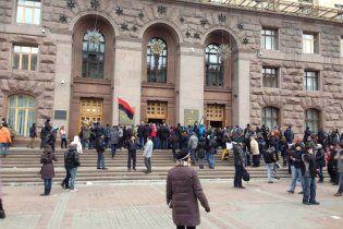 Участники Евромайдана собираются жить в захваченной КГГА