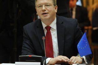 Фюле призвал украинских оппозиционеров отделиться от радикалов