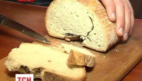 В Виннице семья нашла останки грызуна в буханке хлеба