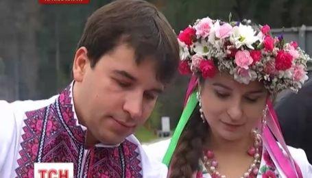 На Буковеле впервые прошел фестиваль украинской свадьбы
