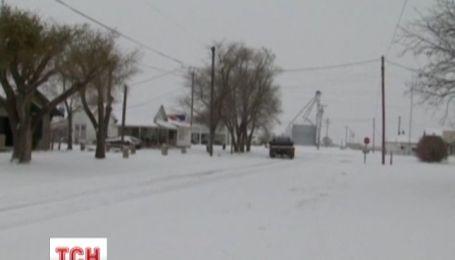 Сполучені Штати опинились у сніговому полоні