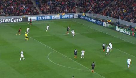 Шахтер - Манчестер Юнайтед - 1:1. Видео гола Тайсона