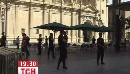 В соборе Богоматери Пилар в Испании прогремел взрыв