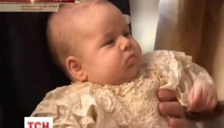 Оприлюднено фотографії з хрестин принца Джорджа