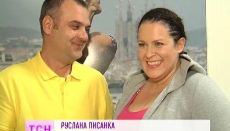 """На шоу """"Вышка"""" Гришко пришли поддержать китайцы, а Руслана Писанка из-за шоу, почти не видит мужа"""