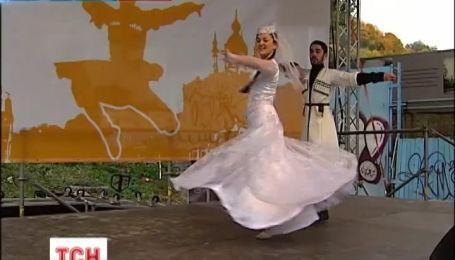 В Киеве отметили день Тбилиси