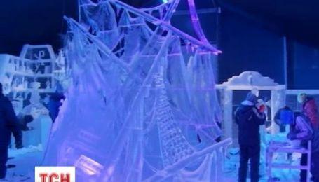 В Бельгии построили ледовый дворец из сказки о Снежной королеве