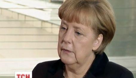 Ангела Меркель планує поговорити про Україну з Володимиром Путіним