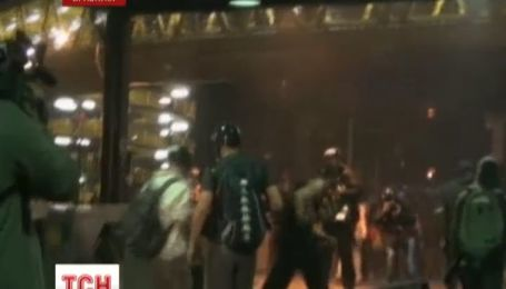 В Бразилии, недовольные горожане вдребезги разнесли местный автовокзал