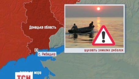 Вторые сутки ищут двух рыбаков в акватории Азовского моря
