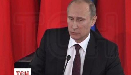 Путін вважає, що європейські партнери України чинять на неї тиск та погрожують