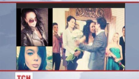 Юная певица Алина Гросу выложила в социальной сети фото со свадьбы
