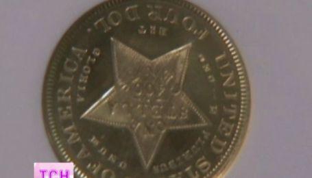 В США 4 долларовую монету продали за 2.5 миллиона
