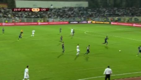 Рієка - Олімпік Ліон - 1:1. Відео матчу
