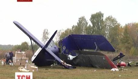 На Волыни в результате падения самолета погибли два человека