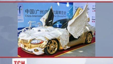 В Китае сделали автомобиль-дракон