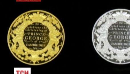 По случаю крестин принца Джорджа в Великобритании выпускают коллекционную монету