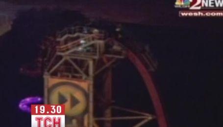 В США 12 человек застряли на американских горках на высоте 17 этажа
